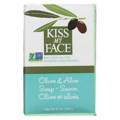 Kiss My Face Bar Soap Olive And Aloe