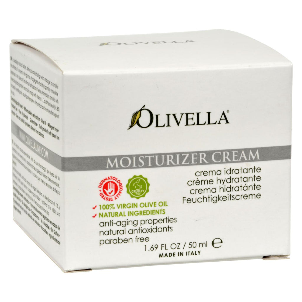 Olivella Moisturizer Cream - 1.69 Fl Oz - Olivella - Start Living Natural