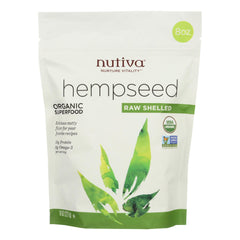 Nutiva Organic Hemp Seed - Raw Shelled - Start Living Natural