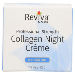 Reviva Labs Collagen Night Cream - 1.5 Oz - Reviva Labs - Start Living Natural