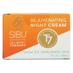 Sibu Beauty Replenishing Night Cream Sea Buckthorn