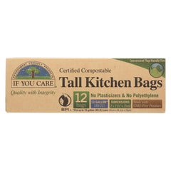If You Care Trash Bags - Certified Compostable