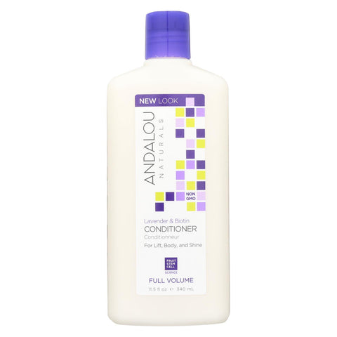 Andalou Naturals Full Volume Conditioner Lavender And Biotin - 11.5 Fl Oz - Andalou Naturals - Start Living Natural