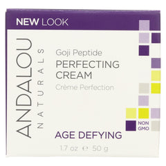 Andalou Naturals Super Goji Peptide Perfecting Cream - 1.7 Fl Oz - Andalou Naturals - Start Living Natural