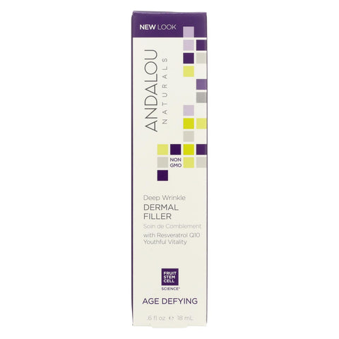 Andalou Naturals Age Defying Deep Wrinkle Dermal Filler - 0.6 Fl Oz