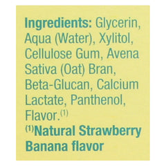 Earth's Best Toddler Toothpaste Strawberry Banana - 1.6 Oz - Earth's Best - Start Living Natural