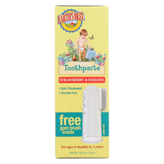 Earth's Best Toddler Toothpaste Strawberry Banana - Start Living Natural