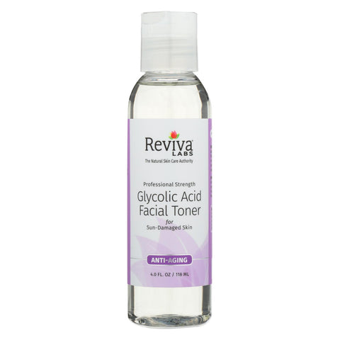 Reviva Labs Glycolic Acid Toner - 4 Fl Oz - Reviva Labs - Start Living Natural