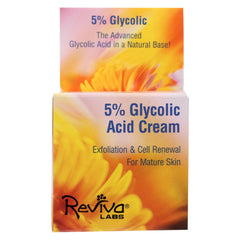 Reviva Labs 5% Glycolic Acid Renaissance Cream - 1.5 Oz - Reviva Labs - Start Living Natural