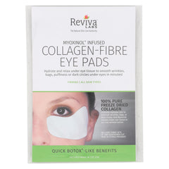 Reviva Labs Collagen Fiber Contoured Eye Pads - Case Of 6 - 3 Sets - Reviva Labs - Start Living Natural