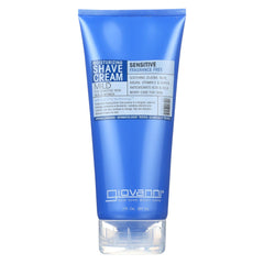 Giovanni Moisturizing Shave Cream Sensitive Skin - Men And Women - Fragrance Free