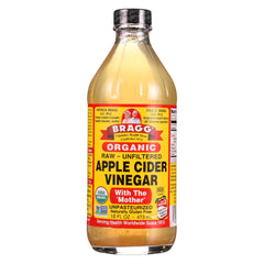 Bragg Apple Cider Vinegar - Organic - Raw - Unfiltered - 16 Oz - 1 Each