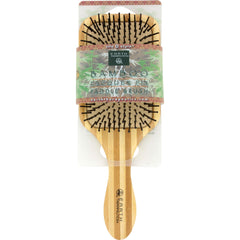 Earth Therapeutics Large Bamboo Lacquer Pin Paddle Brush - Start Living Natural
