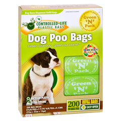 Green-n-pack Dog Poo Bags - 200 Pack - Green-n-pack - Start Living Natural