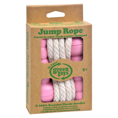 Green Toys Jump Rope - Pink - Start Living Natural