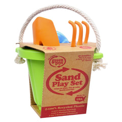 Green Toys Sand Play Set - Green - 4 Piece - Start Living Natural