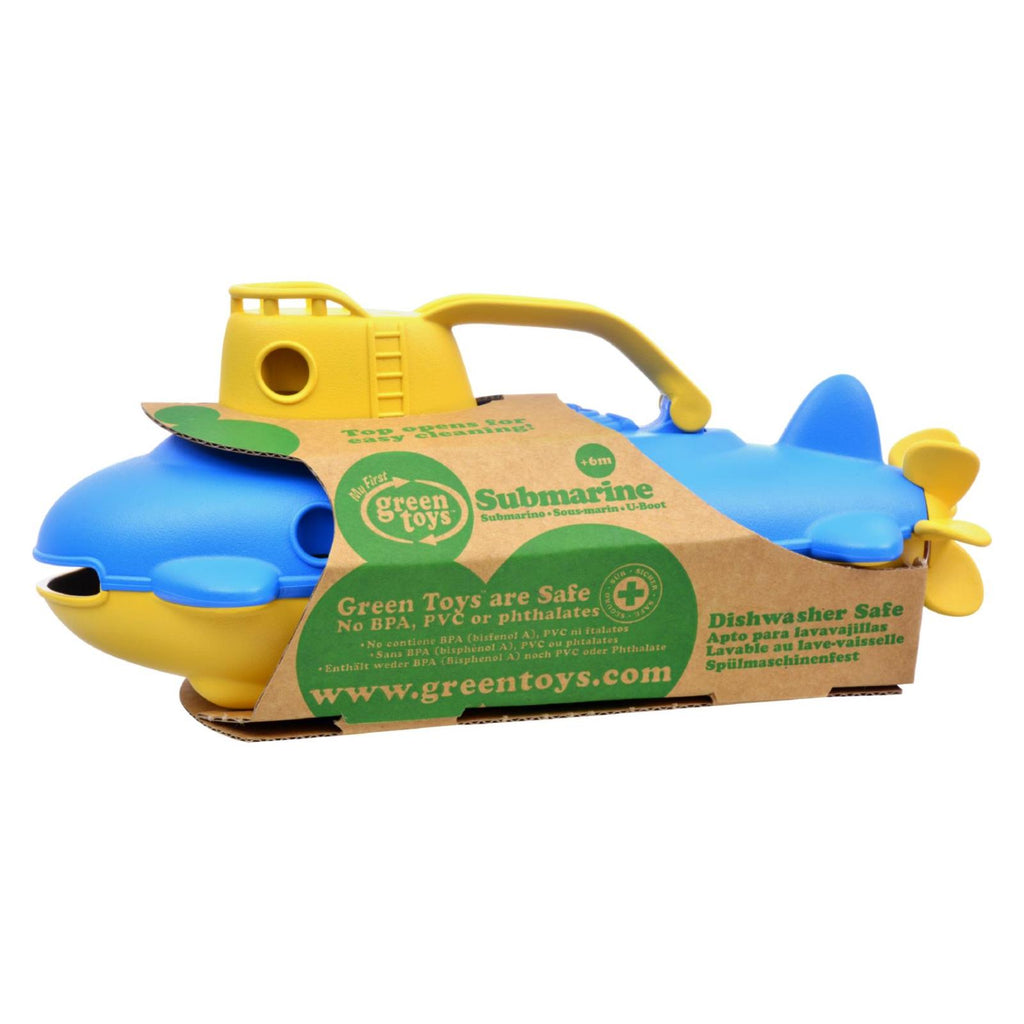 Green Toys Submarine - Yellow Cabin