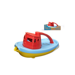 Green Toys Tug Boat - Red - Start Living Natural