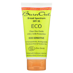Burn Out - Sunscreen - Eco Sensitive - SPF 35 - Start Living Natural