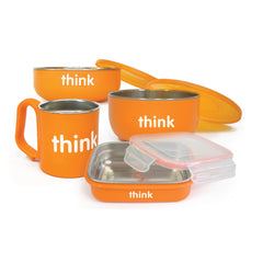 Thinkbaby Complete BPA Free Feeding Set - Start Living Natural