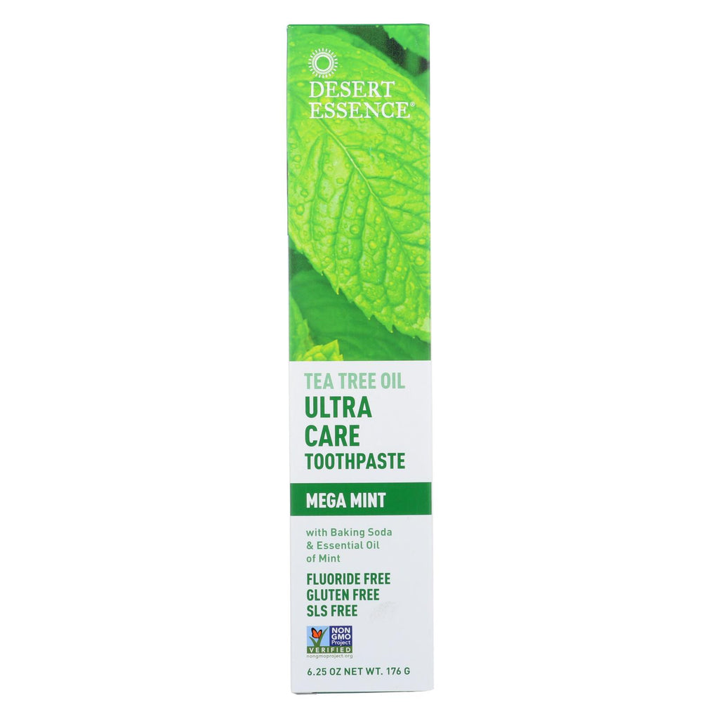 Natural Tea Tree Oil Toothpaste Mint