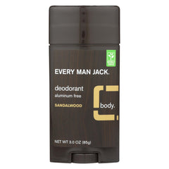 Mens Deodorant, Sandalwood