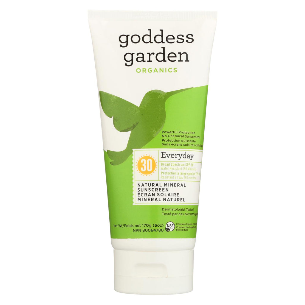 Goddess Garden Sunscreen - Organic - Natural - Sunny Body - SPF 30
