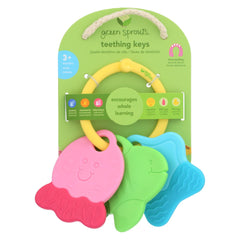Green Sprouts Teething Keys - Unisex - 3 Months Plus - Start Living Natural