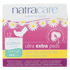 Ultra Extra Pads w/wings - Normal -  12 Count