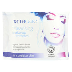 Make-Up Removal Wipes - Cleansing - 20 Count - Natracare - Start Living Natural