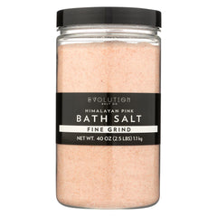 Evolution Salt Bath Salt - Himalayan - Fine