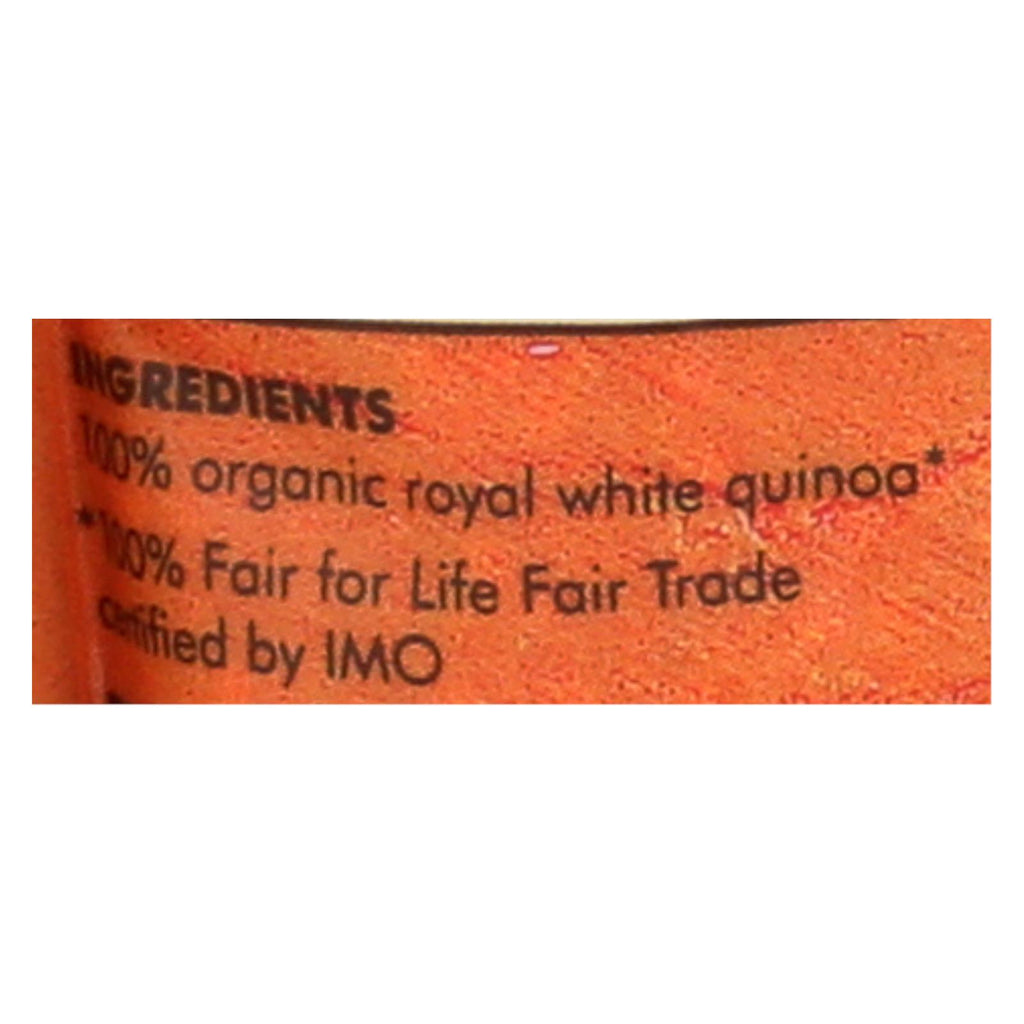 Quinoa - Organic Pearl Heirloom - Case of 6 - 12 oz. - Alter Eco Americas - Start Living Natural