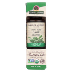 Nature's Answer - Organic Essential Oil - Sage