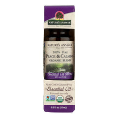 Nature's Answer - Organic Essential Oil Blend - Peace And Calming