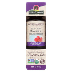 Nature's Answer - Organic Essential Oil Blend - Romance