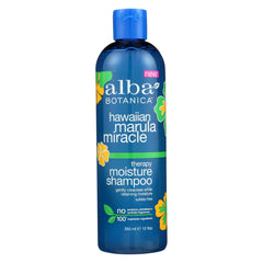 Alba Botanica - Hawaiian Marula Miracle Shampoo - Therapy Moisture - Start Living Natural