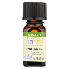 Aura Cacia - Organic Essential Oil - Frankincense - Start Living Natural