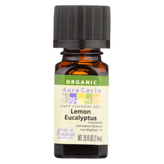 Aura Cacia - Organic Essential Oil - Lemon Eucalyptus - Start Living Natural