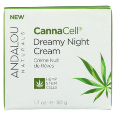 Andalou Naturals - Cannacell Dreamy Night Cream - 1.7 Oz. - Andalou Naturals - Start Living Natural