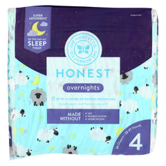 The Honest Company - Overnight Diapers - Sleepy Sheep - Size 4