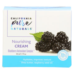 California Pure Naturals - Nourishing Cream - Start Living Natural