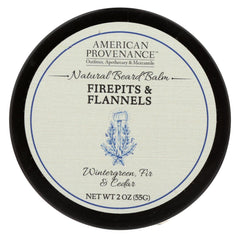 American Provenance - Beard Balm - Firepits And Flannels - 2 Oz. - Start Living Natural