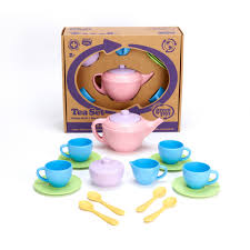 Green Toys Tea Set - 17 Piece Set - Green Toys - Start Living Natural