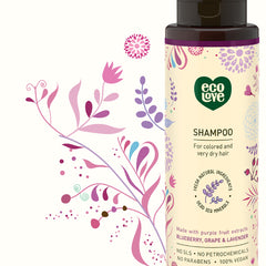 Ecolove Shampoo - Purple Fruit Shampoo For Colored And Very Dry Hair - Start Living Natural