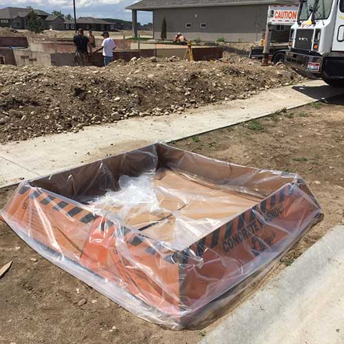 Concrete Washout Container