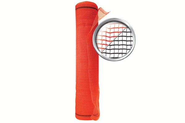 Scaffold Netting Orange and Black Color
