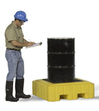 Ultratech 3-Drum Spill Pallet Without Drain - Plus P3 - 9626