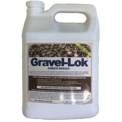 Gravel-Lok Amber Binding liquid