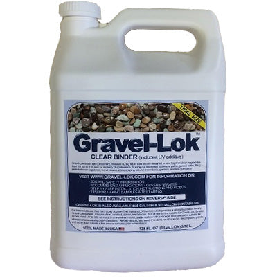 Gravel-Lok - Clear Color - 1 Gallon