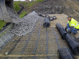 Tensar UX1700MSE Uniaxial Geogrid - 4.36' x 200' Roll